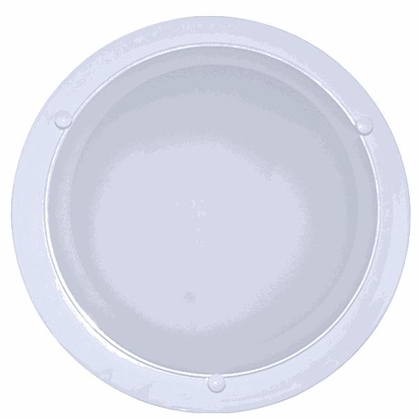 Luminária Plafon Led Branco (Luz Branca Fria)