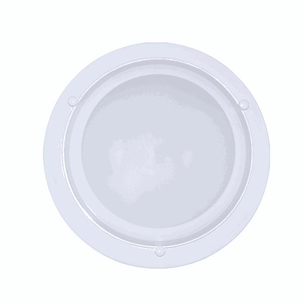 Luminária Plafon Led Com Borda Branca (Luz Branca Fria)