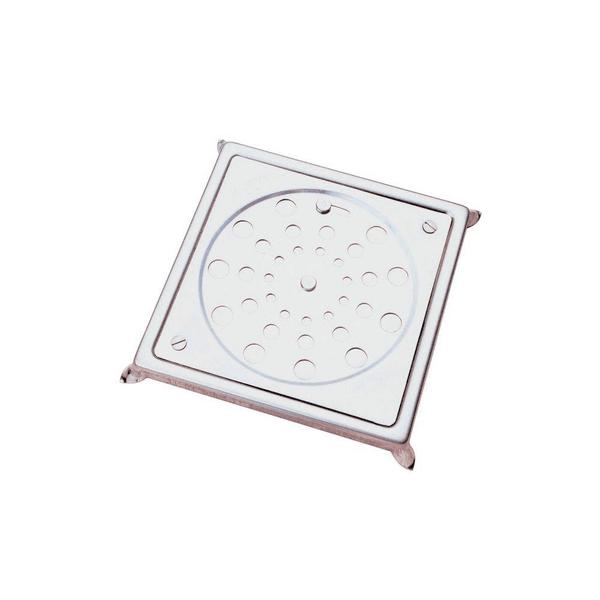 Grelha Quadrada Com Caixilho Em Aço Inox E Fecho 150mm 304 - Jackwal