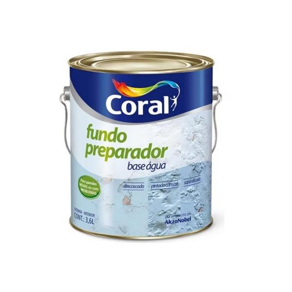FUNDO PREPARADOR CORALIT ZERO 3,6L