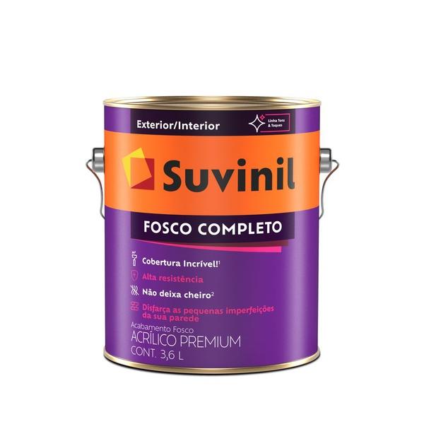 TINTA ACRÍLICO FOSCO COR TOMATE SECO 3,6L