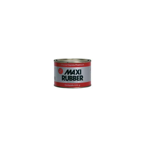 Massa Rápida Premium Maxi Rubber 620g