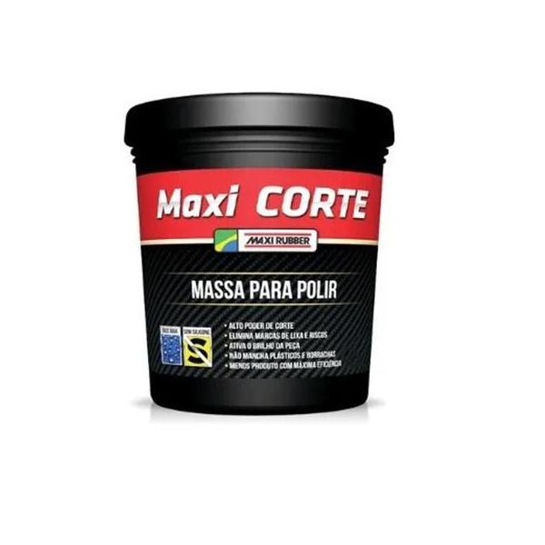 Maxi Corte Polir 2 B.água Maxi Rubber 500gr