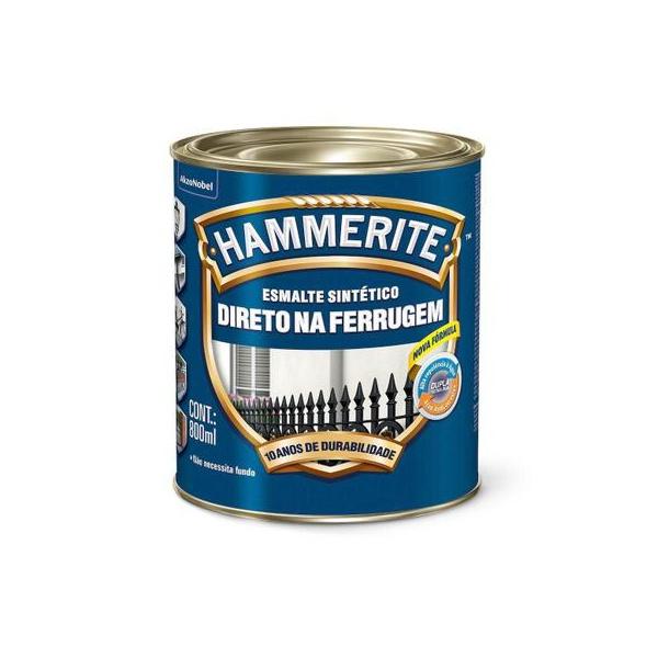 Esmalte Sintético Hammerite Brilhante 800ml