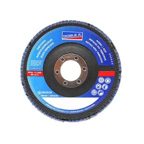 Disco de Desbate Flap 41/2 ( 115x22 ) GR.80 DOBLEA