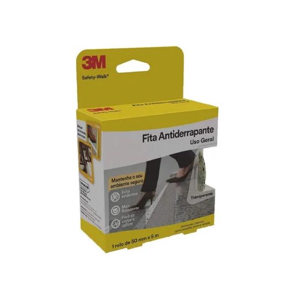 Fita Antiderrapante Transp 50MMX20M 3M