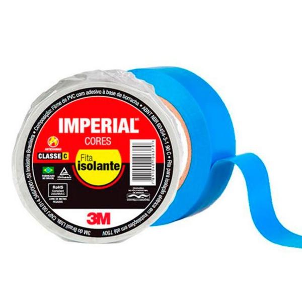 Fita Isolante Imperial 18MMX20M 3M