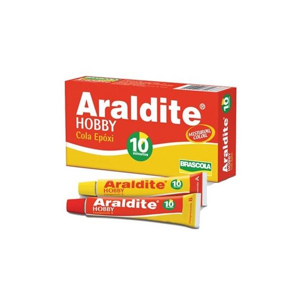 Cola Araldite 10min. 16gr Brascola