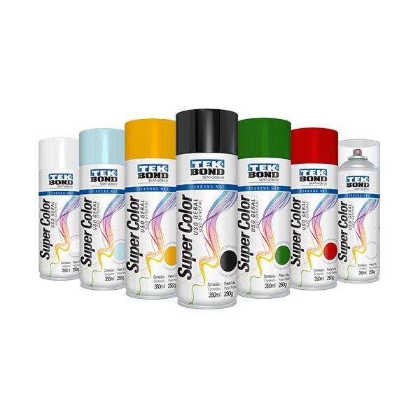 Super Color Spray Brilhante 350ML Tekbond