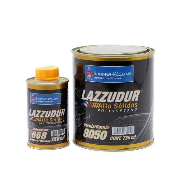 Verniz 8050 Pu C/cat Lazzuril Kit 900ml