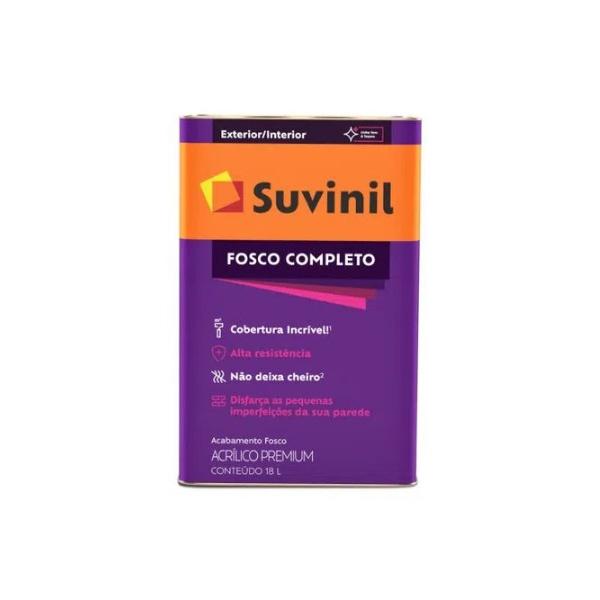 Tinta Acrilica Premium Fosco Completo 18 L Suvinil