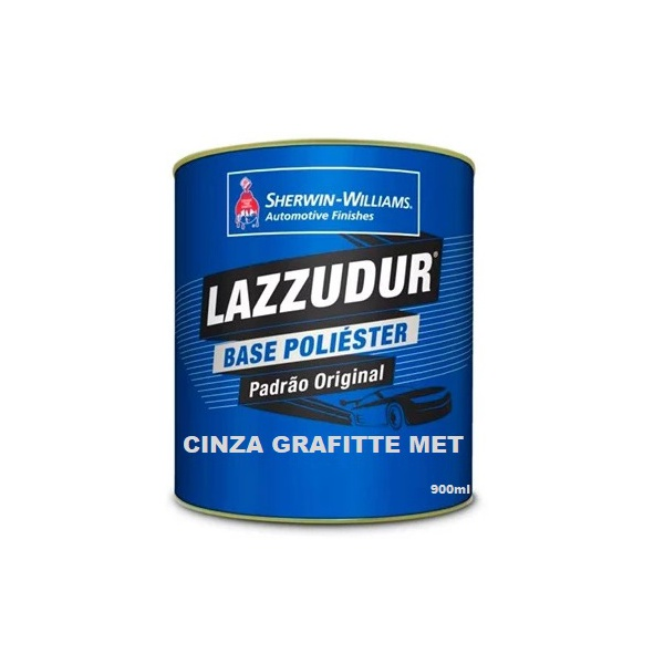 Cinza Grafitte Met 900ml Lazzudur