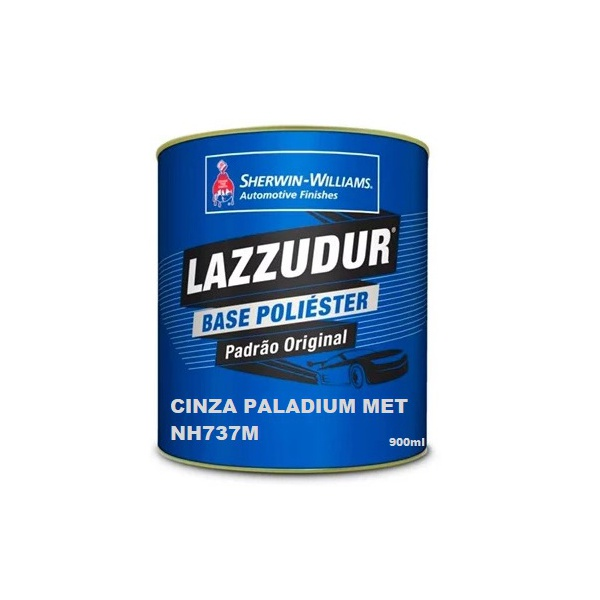 Cinza Paladium Met Nh737m 900 ml Lazzudurl