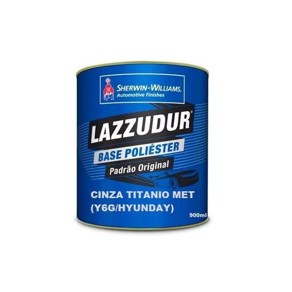 Cinza Titanio Met Ygg/hynday 900ml Lazzudur