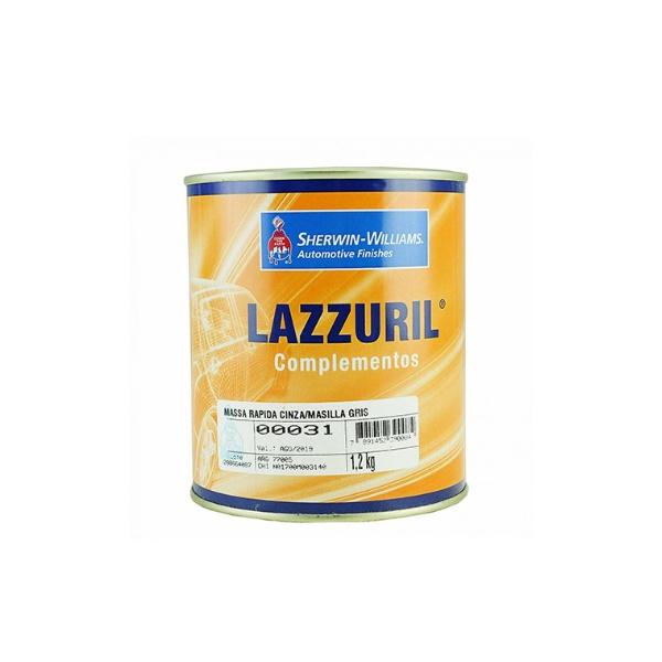 Massa Rapida Cinza 1,2kg Lazzuril