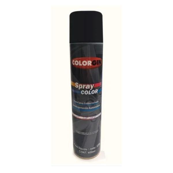 Preto Fosco Spray Envelopamento 400ml Lazzuril