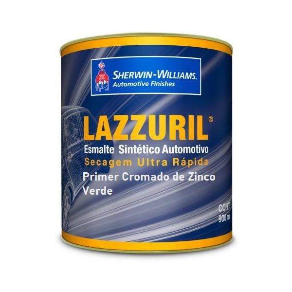 Primer Cromado De Zinco Verde 900 ml Lazzuril