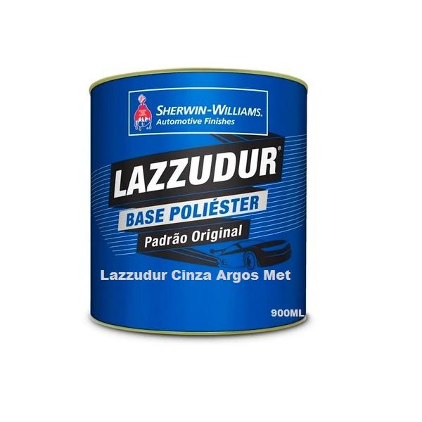Cinza Argos Met 900 ml Lazzudur