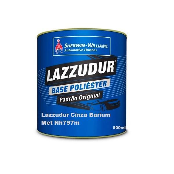 Cinza Barium Met Nh797m 900 ml Lazzudur