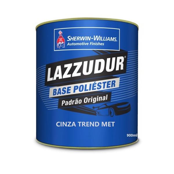 Cinza Trend Met 900 ml Lazzudur