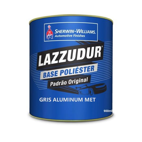 Gris Aluminum Met (Ezr) 900 ml Lazzudur