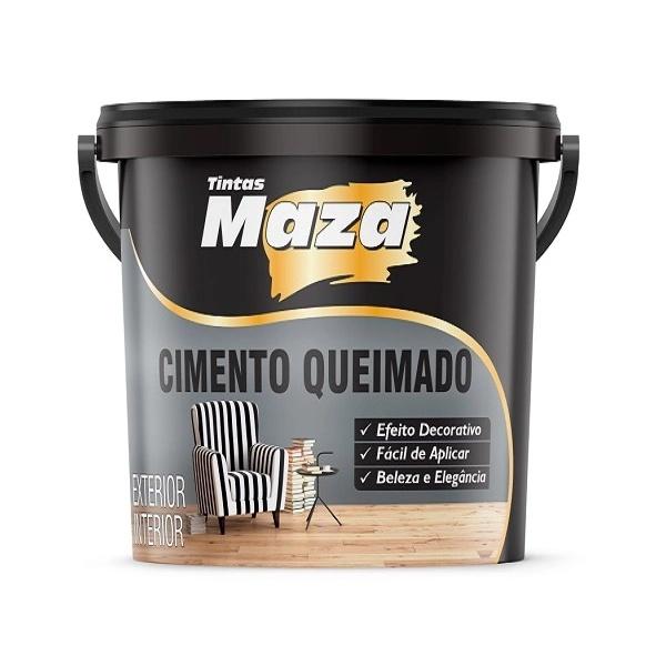 CIMENTO QUEIMADO MAZA BALDE 25KG