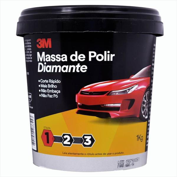 MASSA POLIR DIAMANTE 1KG 3M