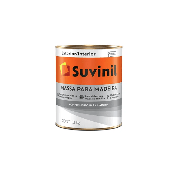 Massa para Madeira Suvinil 1,3kg