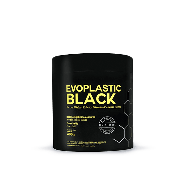Renova Plásticos Externos Evoplastic Black Evox 400g