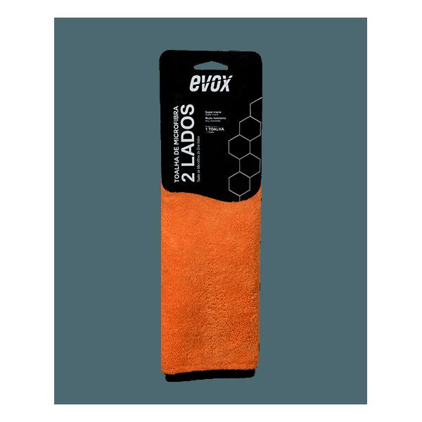 Toalha de Microfibra 2 Lados 600GSM 40x40cm Evox