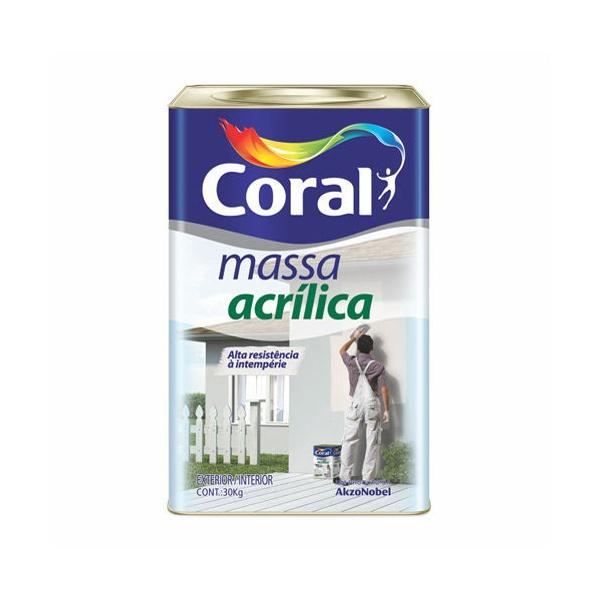 MASSA ACRILICA CORAL 25KG