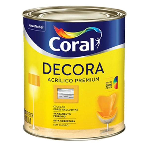 GRAFITE ESCURO DECORA FOSCO BASE T 800ML N/F
