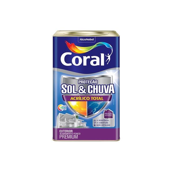 ACRILICO TOTAL FOSCO SOL E CHUVA BASE T 16L