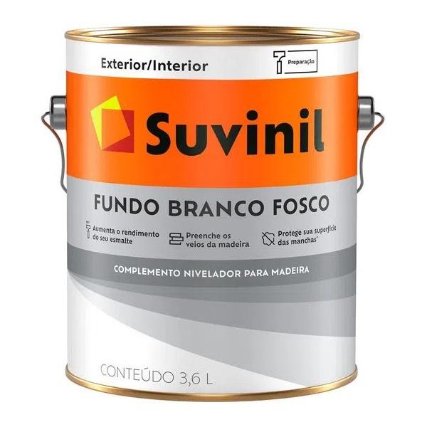 Fundo Preparador Fosco Branco Suvinil 3,6 Litros