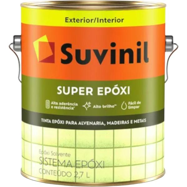 Tinta Esmalte Epóxi Solvente Suvinil 2,7Litros