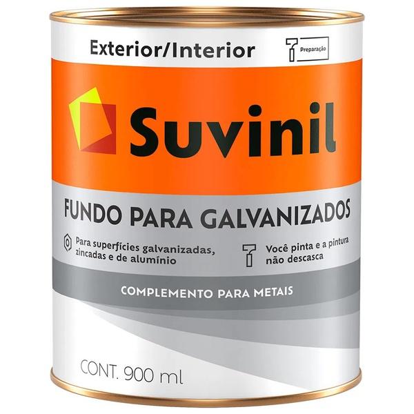 Fundo para Galvanizados Suvinil 900ml