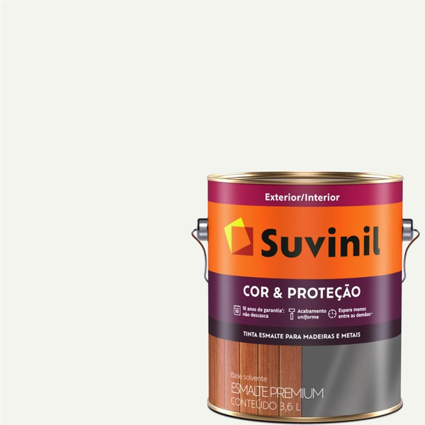 Tinta Esmalte Cor e Proteção Fosco Suvinil 3,6 Litros