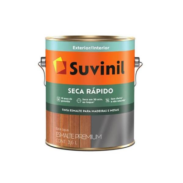 Tinta Esmalte Acetinado Seca Rápido Suvinil 3,6 Litros