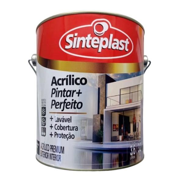 Tinta Acrílica Fosco Sulan 3,6L