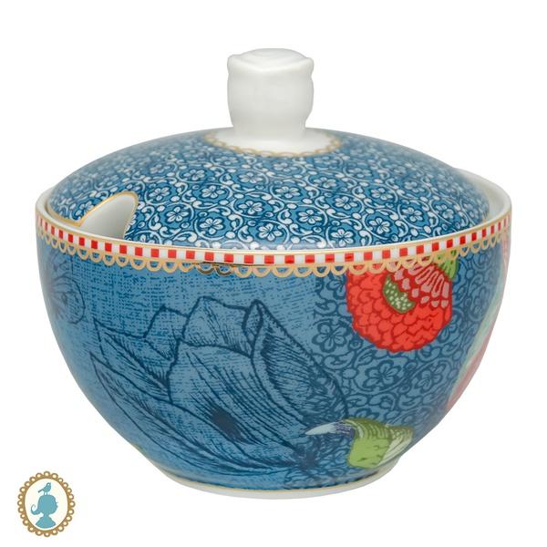 Açucareiro Azul Spring To Life