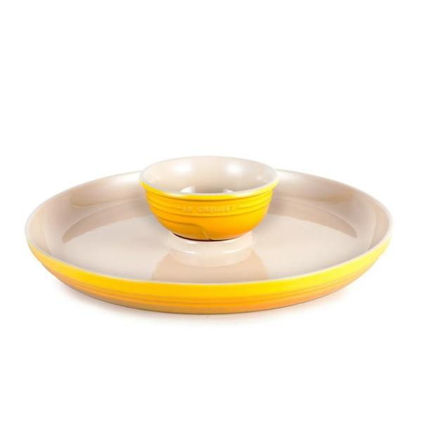 Prato para Aperitivo Amarelo Dijon