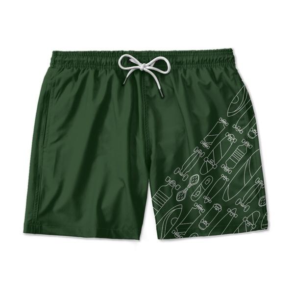 Short Praia - Verde
