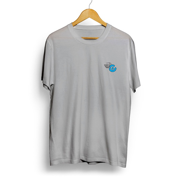 Camiseta Log Fly - Cinza