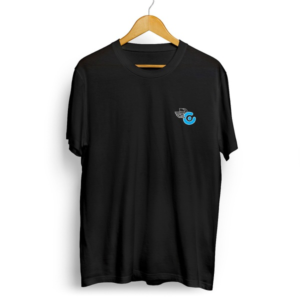 Camiseta Célula Log Fly - Preto