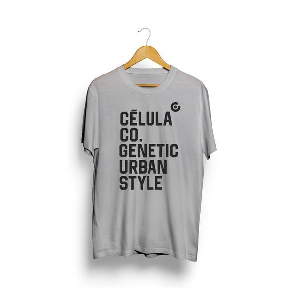 Camiseta Urban - Cinza
