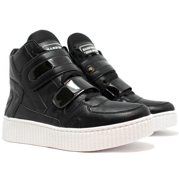 Tênis Sneaker Feminino Treino e Dança Preto