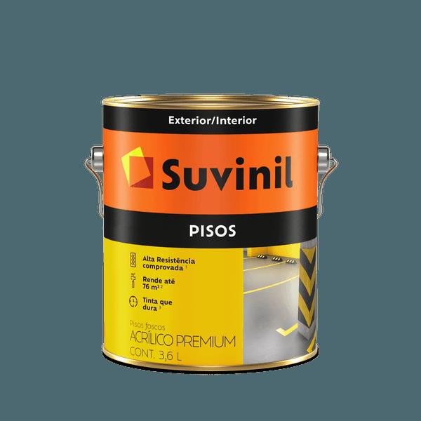 TINTA PISO BRANCO 3,6L SUVINIL