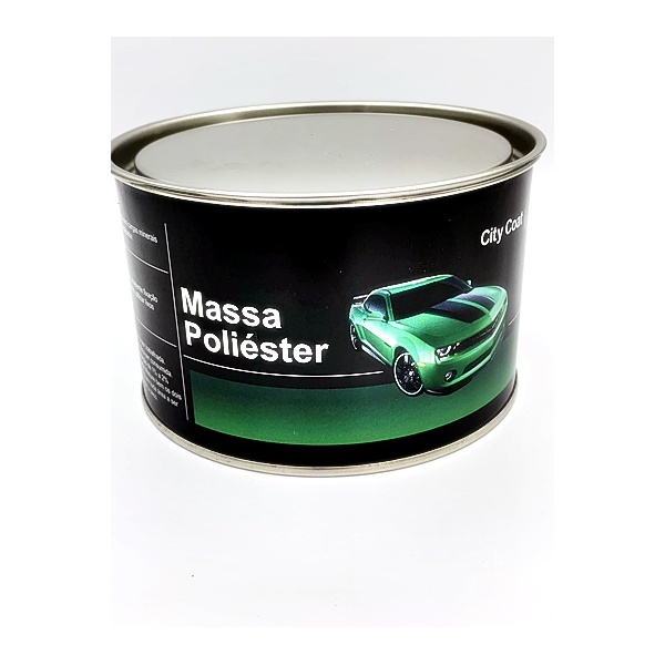 MASSA POLIESTER 0,900 KG CITY COAT