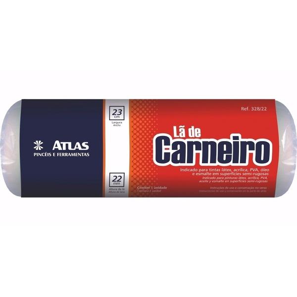 ROLO Lã 328/22 23CM S/CABO ATLAS