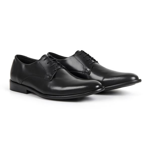 Sapato Social em Couro Preto - Bérgamo